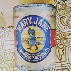 can of Mary Jane found in the Golden Rule