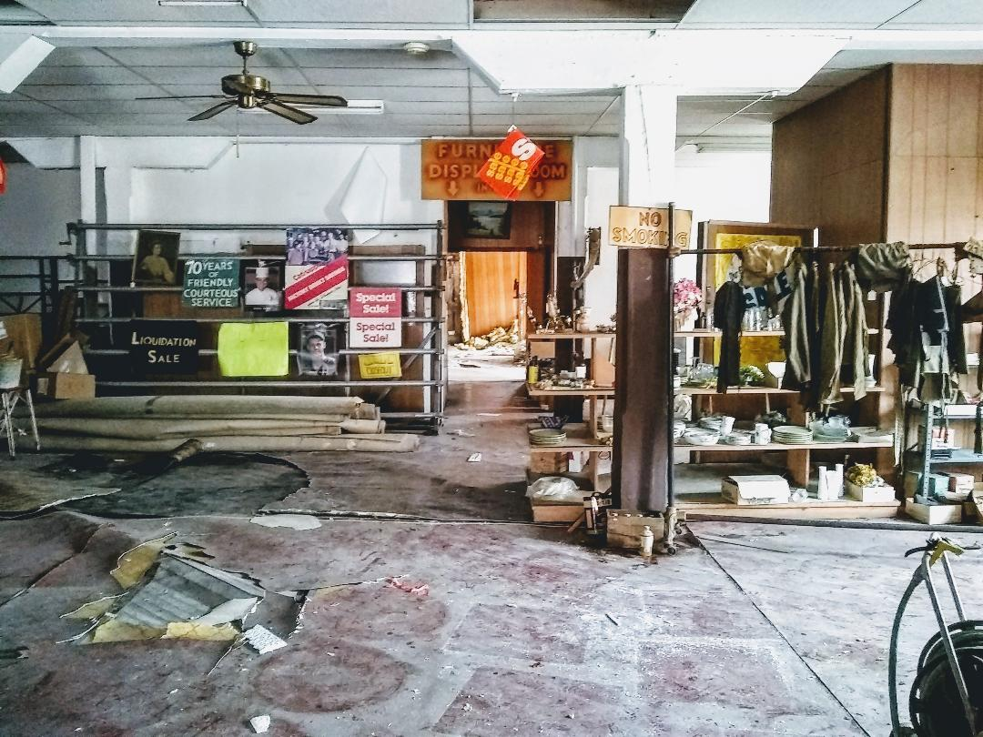 May 2018 mess first floor of the GR