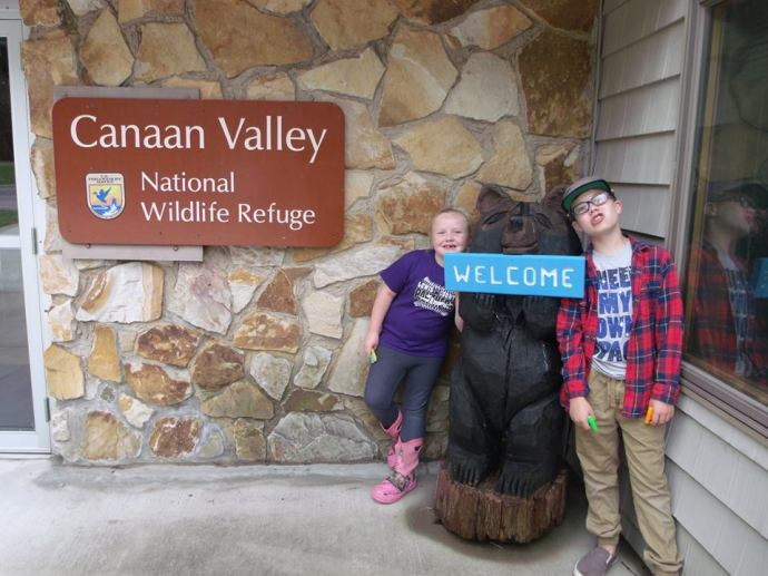 Cannan Valley National Refuge with Christopher and Paige