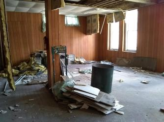 main floor of the Golden Rule mess t 1st Day