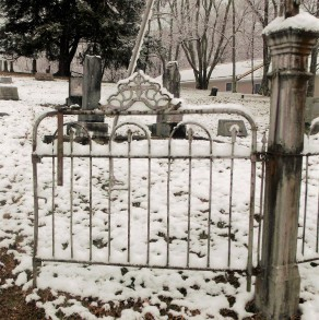 Gate at Pleasant Grove Cemetry