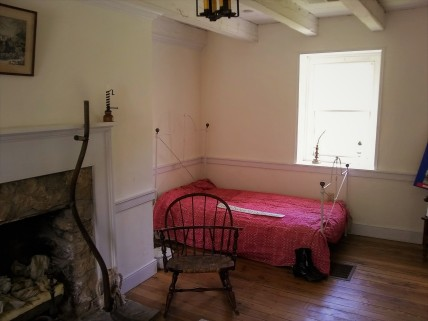 single bedroom on second floor