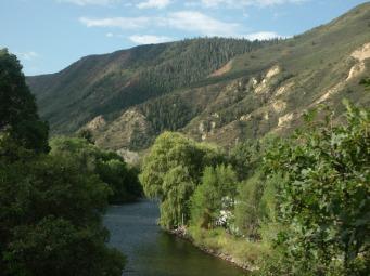Colorado River at Glenwood Springs, Co.
