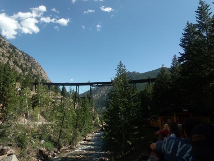 High bridge of Georgetown loop