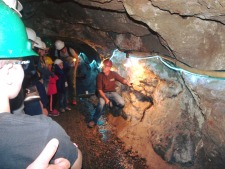 Learning to mine silver at the Lebanon Sliver mine near Silverplume Co