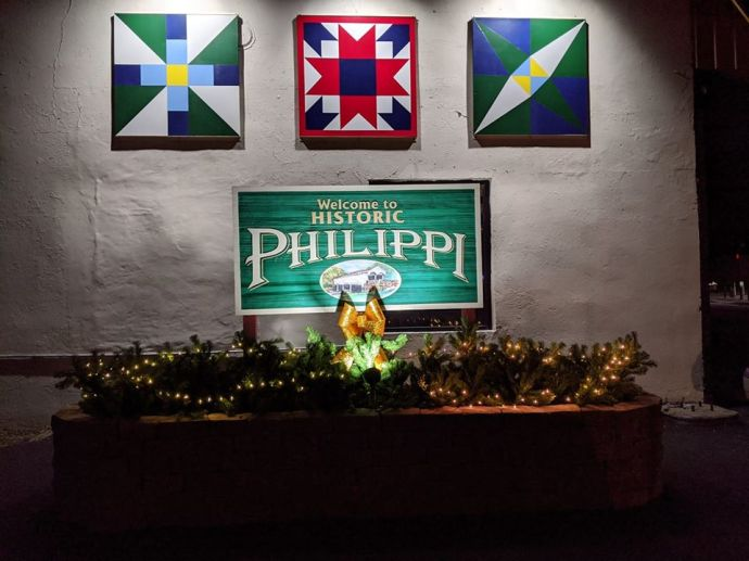 Welcome to Philippi sign in dark
