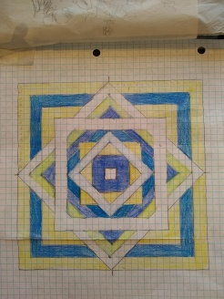 "Basic pattern for my home ""over under square"" Pattern"